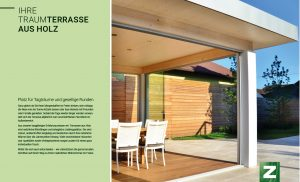 """Broschüre """"Terrassen aus Holz"""""""