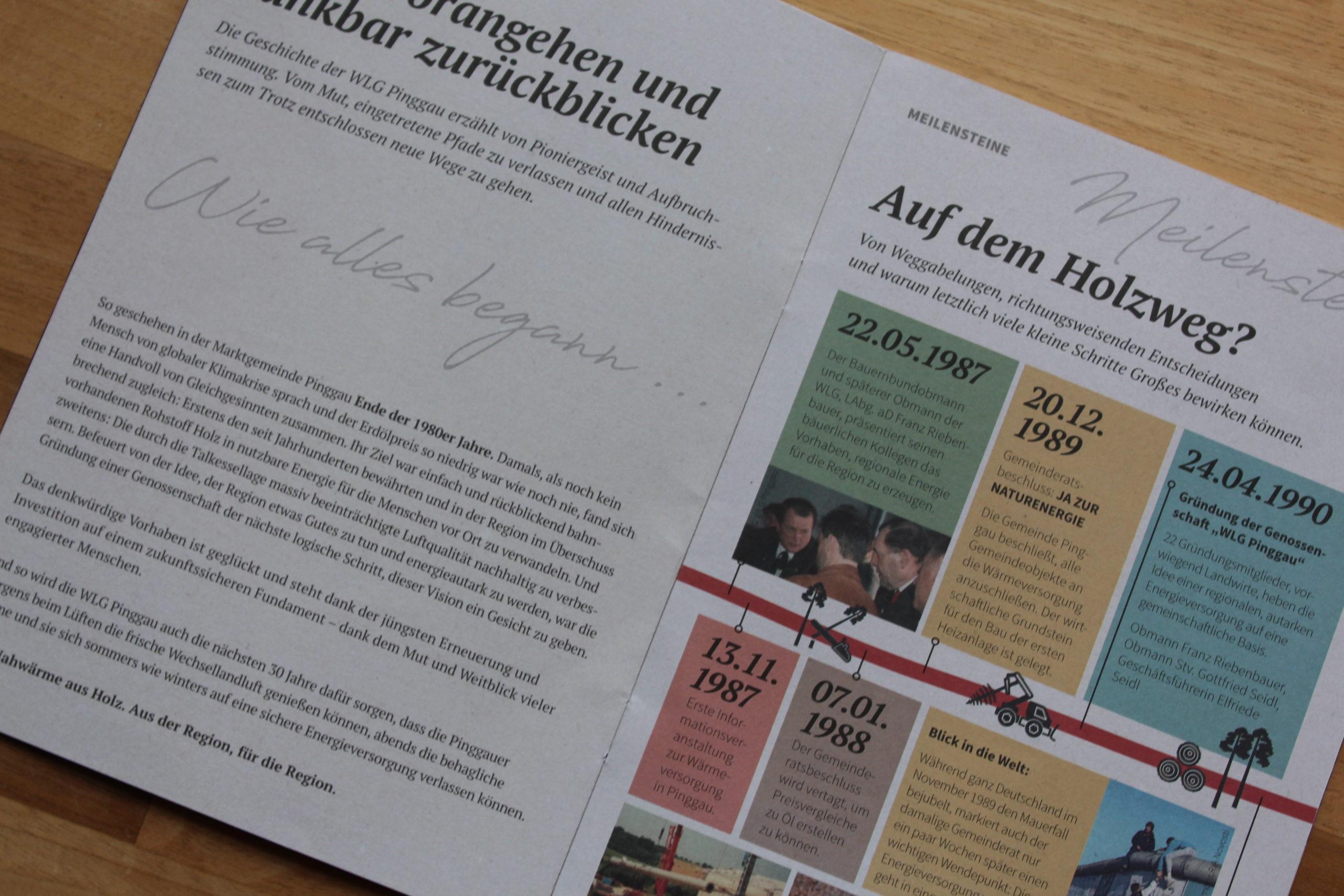 Festschrift 20 Jahre WLG Pinggau