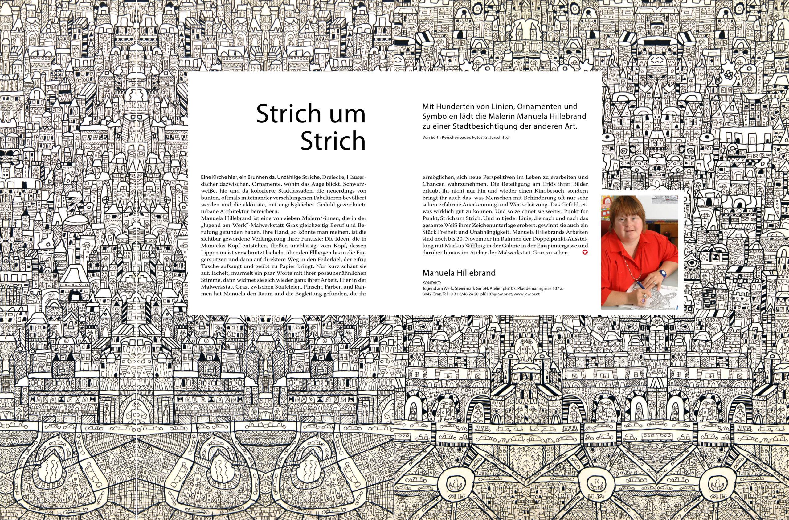 Diverse PR-Artikel für Jugend am Werk Steiermark